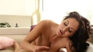 Brunette Stepmom Ava Addams Gets Tit Fuck POV