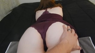 Big Ass Wife Gets Creampied