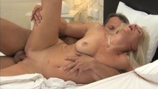 MILF with big tits has multiple orgasms