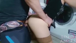 Fucked while stuck