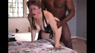Lovely grandma gets fucked by black friend