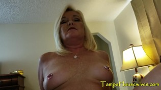 Son Tricks Step Mom into a Blind Date to Fuck Him