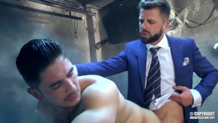 stud dato foland fuck hector de silva tied and blindfolded