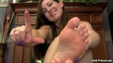 Fetish Princess Kristi Foot Worship for Losers – Bratty Princess Feet