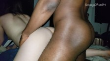 Loud Chinese gets fucked by amazing black cock BMAF